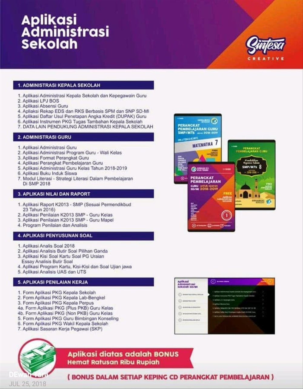 Aplikasi Eds Smp 2018 : aplikasi, Download, Aplikasi, Revisi, Sekolah