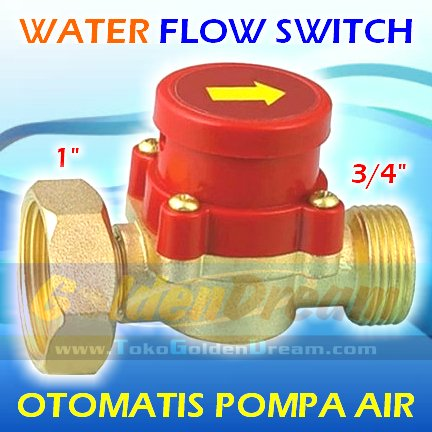 NEW PRODUCT-Otomat Pompa Air 1   34  Kuningan Water Flow Switch Saklar Otomatis