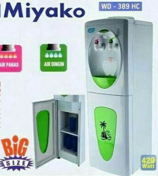 Dispenser Minuman Dispenser Miyako Tinggi WD-389 HC. Panas Dingin