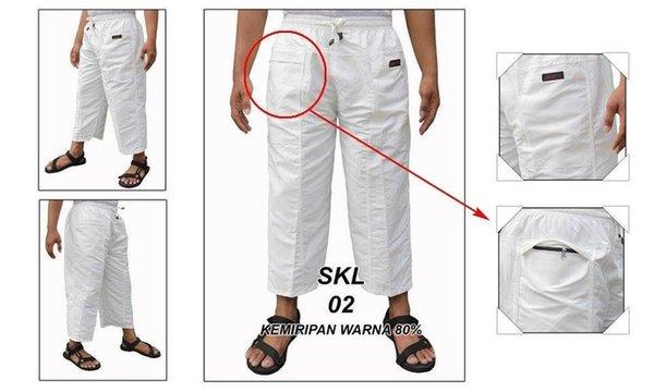 Celana Panjang Cargo katun Pangsi Sirwal JUMBO JPP001