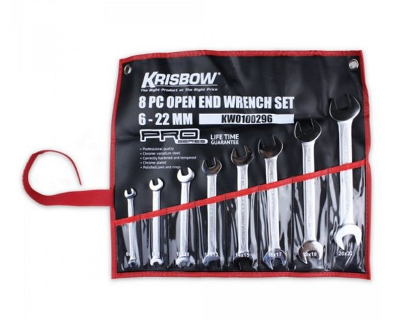 KRISBOW SET KUNCI PAS 6-22MM LAPAK HARDWARE