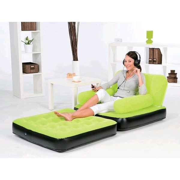SOFA BESTWAY MULTIFUNGSI 2IN1 BED SINGLE INFLATABLE CHAIR