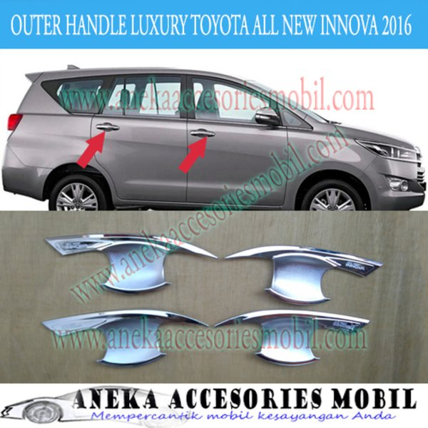 Ready Outer Handle Luxury Mobil Toyota Innova All New Innova Reborn 2016
