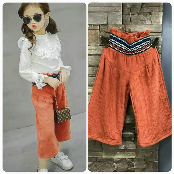 Celana Kulot Anak Celana Panjang Fashion Anak Import