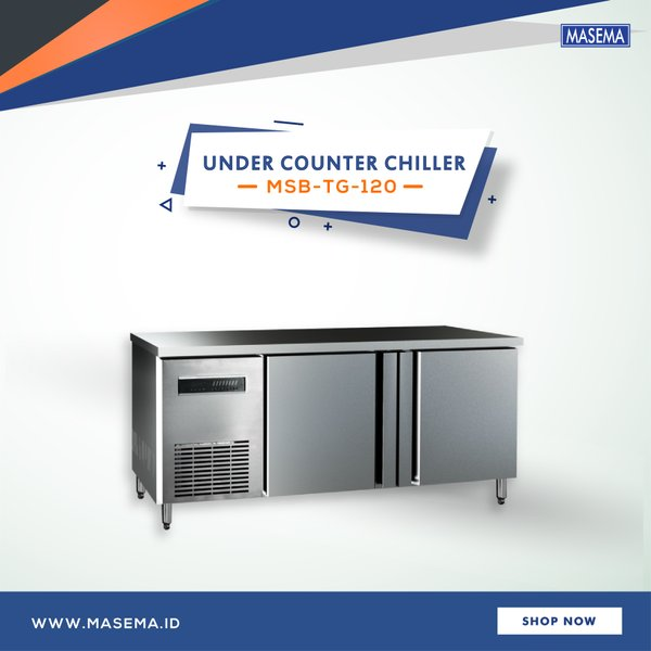 Masema Chiller Under Counter Series MSB-TG-120 - Mesin Pendingin Komersial