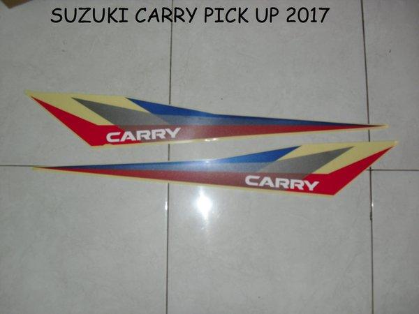 Striping  Sticker  lis mobil suzuki carry pick up 2017 ori