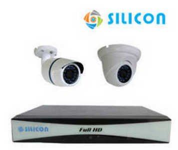 Paket CCTV Ekonomis Silicon DVR Kit RS-233302A