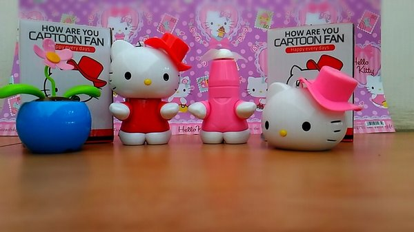 kipas angin hello kitty yang unik