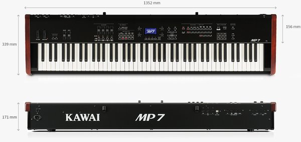 ready Piano Digital Kawai MP7