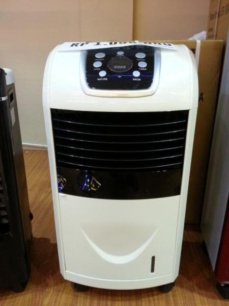 air cooler sedang pendingin dengan air es  sharp no blade kipas angin ac fan portable penyejuk udara LFS 701A