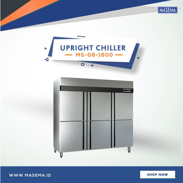 Mesin Pendingin Restoran - Upright Chiller MS-G6-1600