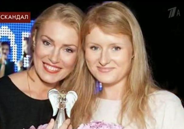 Анна со своей мамой Марией