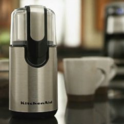 Kitchen Aid Grinder Peerless Faucet Kitchenaid Bcg1110b Blade Coffee Black Page 1 Qvc Com Grind Your Own Fresh
