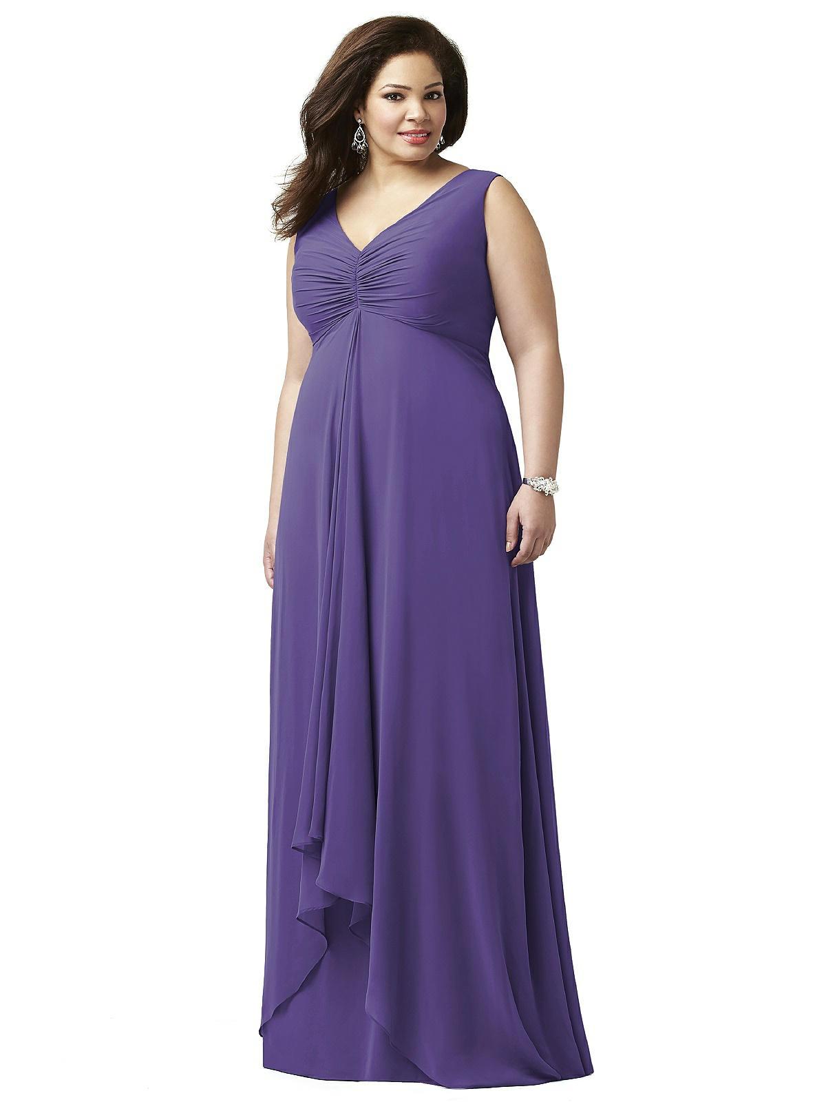 Lovelie Plus Size Bridesmaid Dress 9002: The Dessy Group