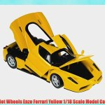 Hot Wheels Enzo Ferrari Yellow 1 18 Scale Model Car Video Dailymotion