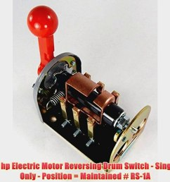1 5 hp 2 hp electric motor reversing drum switch single phase only position video dailymotion [ 1440 x 1080 Pixel ]