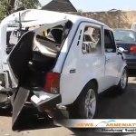 Avtovtar Bmw Niva Car Crash 15 08 2011 News Armeniatv Com Video Dailymotion