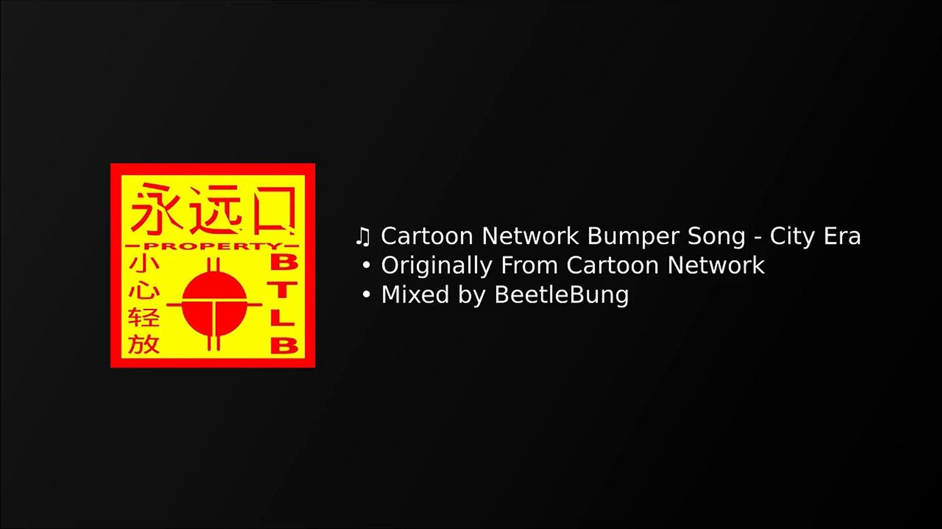 cartoon network bumper song