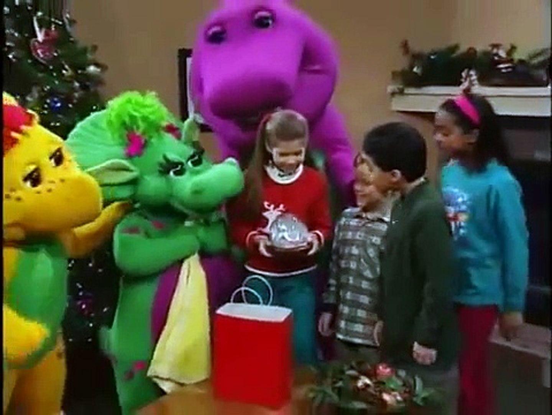 barney christmas special night