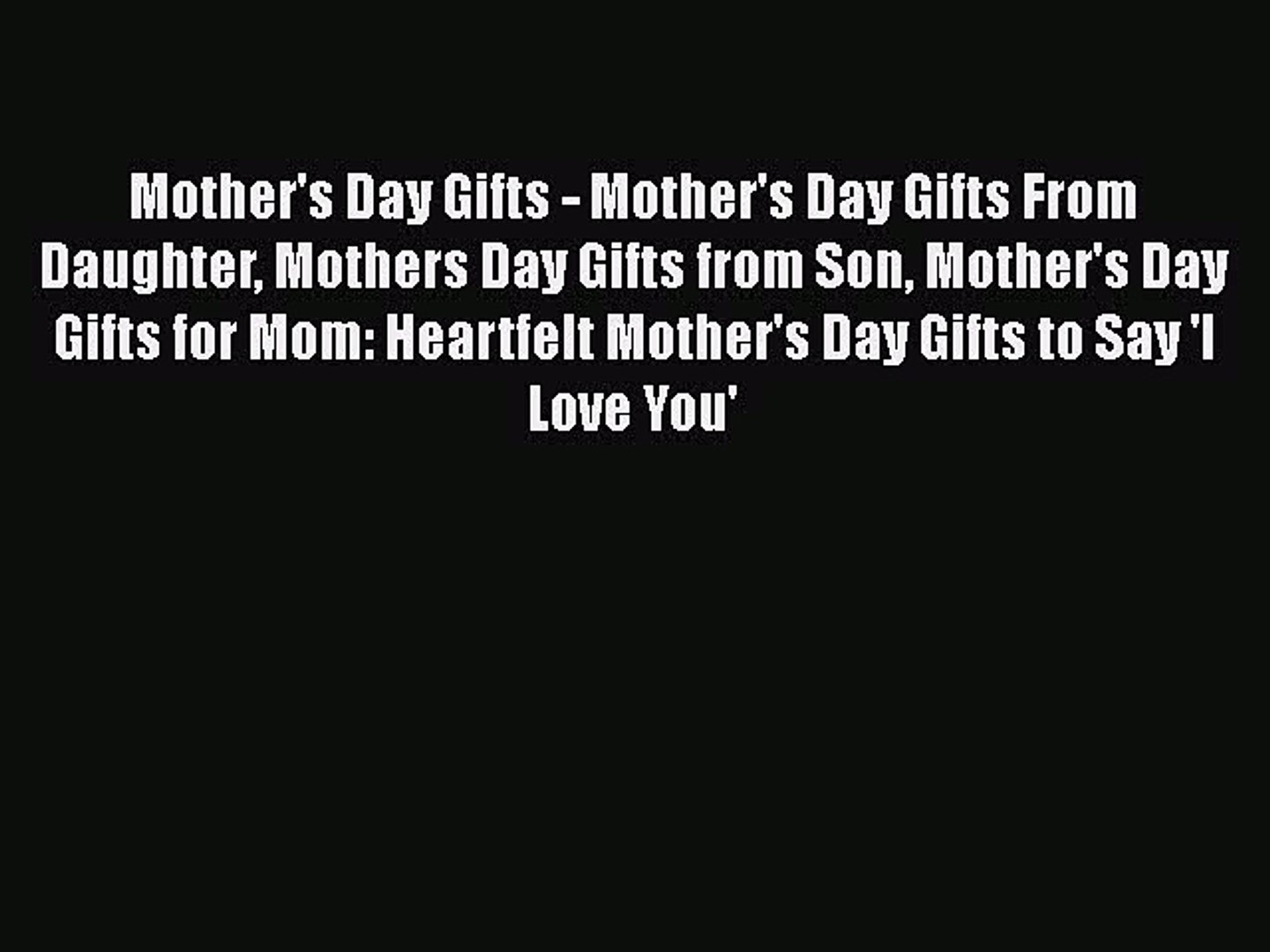 pdf mother s day