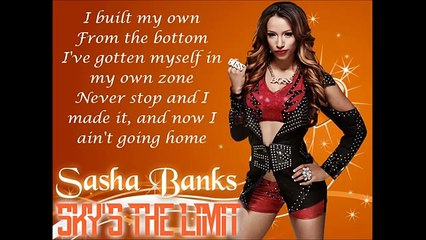 sasha banks wwe theme