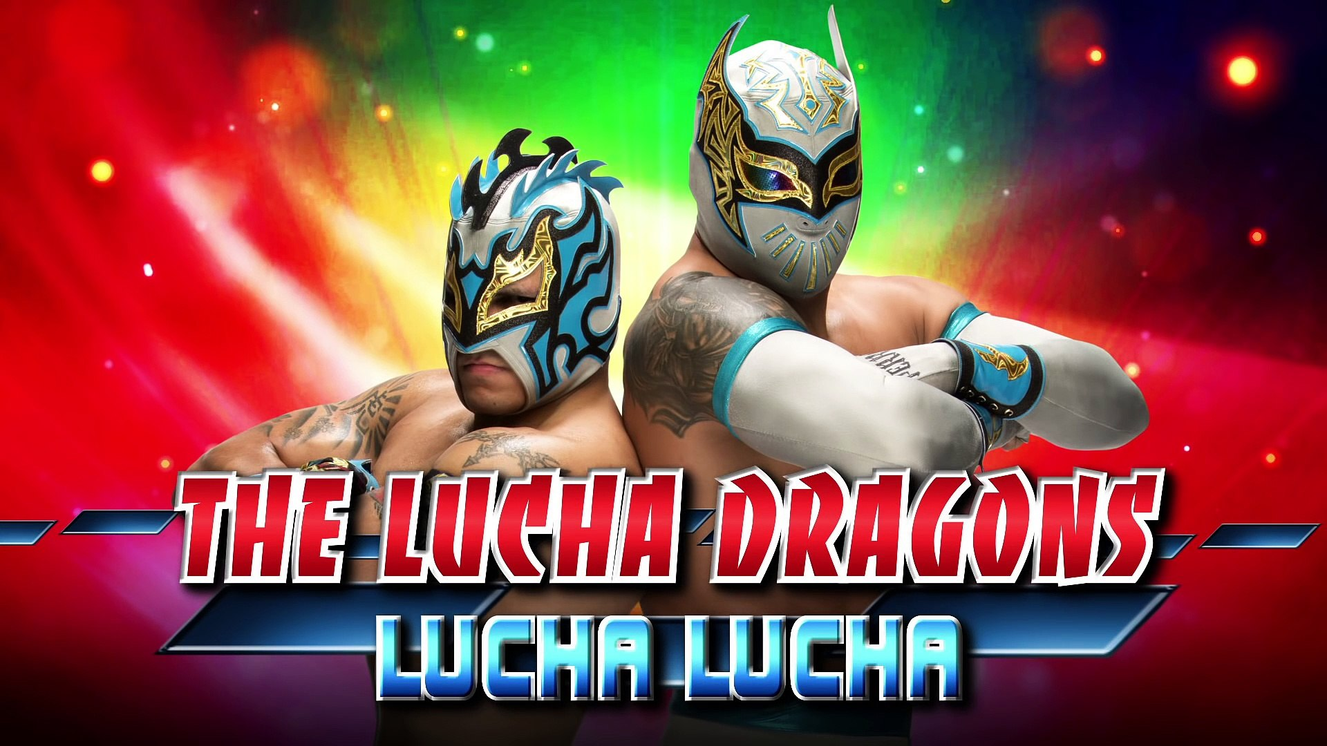 the lucha dragons lucha
