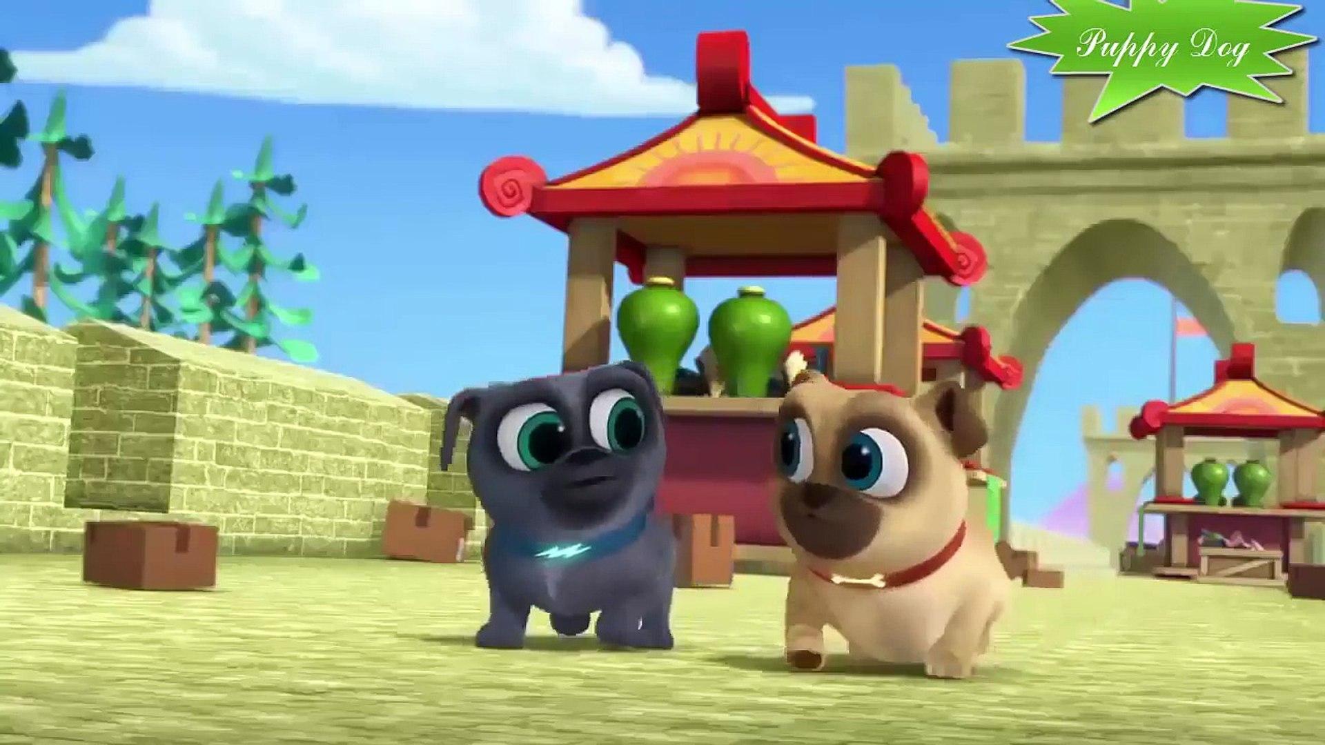 puppy dog pals animation