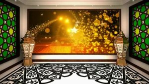 studio islamic virtual screen library animation islami dailymotion terbaru trend backdrop