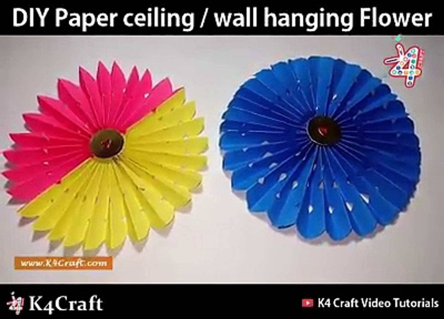 Top 5 paper flowers super easy to make | Easy origami flower for ... | 1080x1500