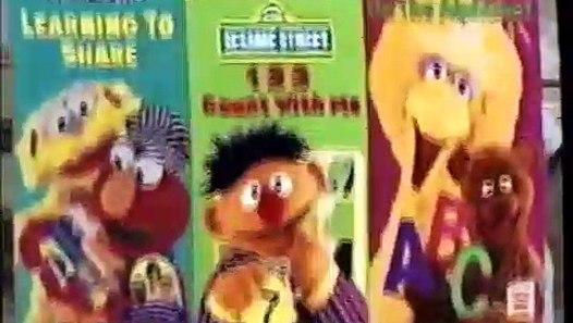 Closing Elmocize Vhs 1996