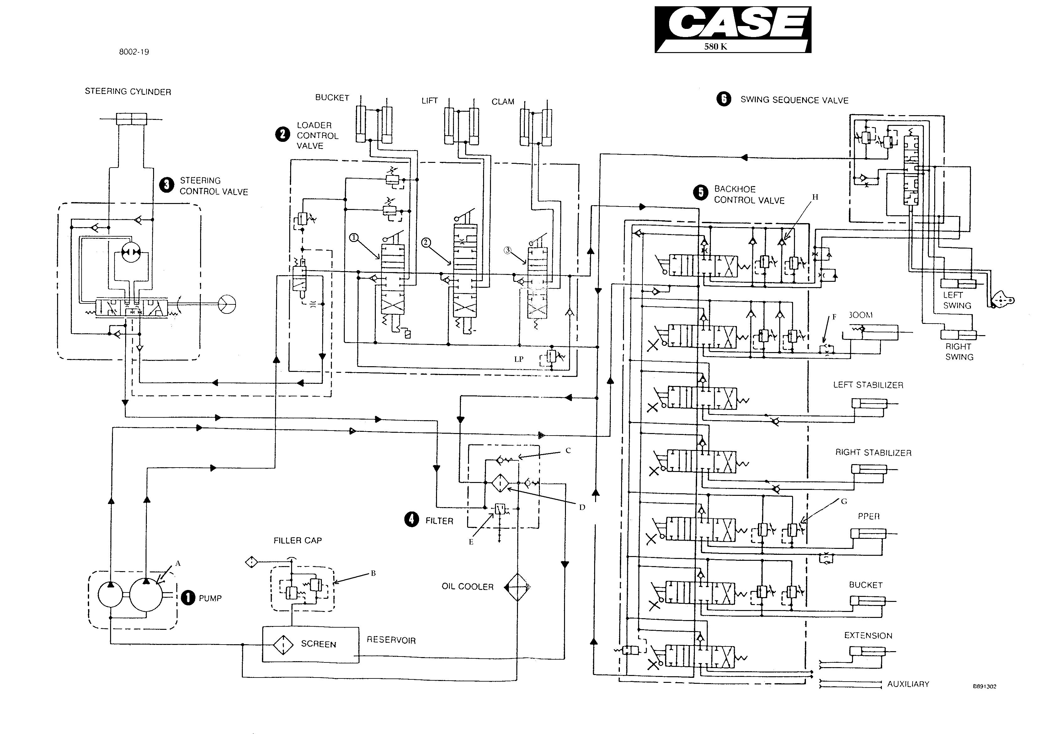 Case Wiring Diagram Auto Electrical 1977 International 1700 Diesel Related With