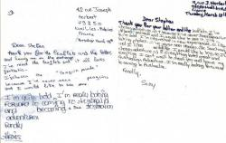 Letter to my Australian Host Family