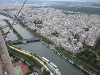 Paris from the top of Tour Eiffel