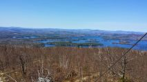 Squam Lake from the Red Hill Forest Fire Lookout Tower