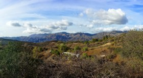 Santa Monica Mountains at Arroyo Sequit