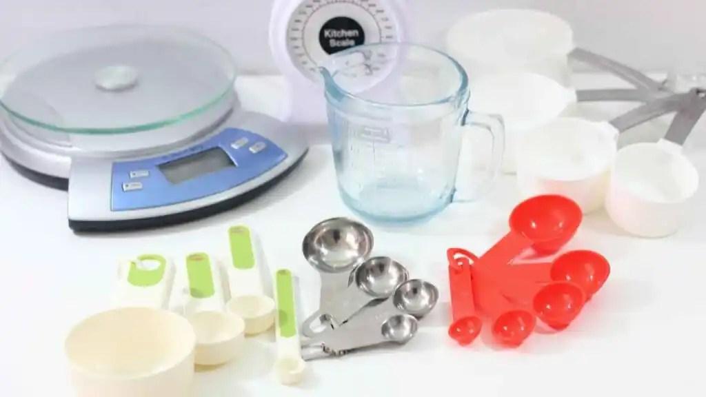 Tablas de conversin de medidas que se usan en cocina y