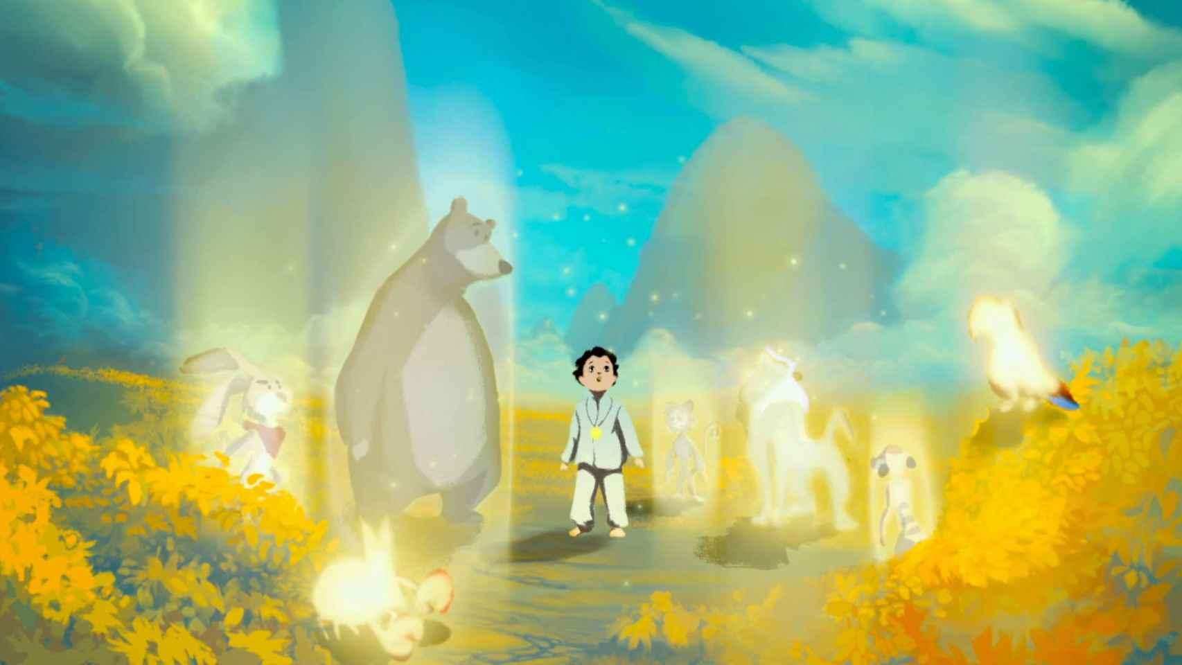 Fotograma animado de Life, animated.