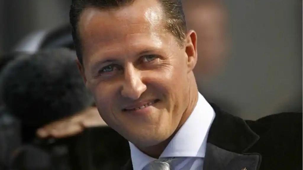 Michael Schumacher, recibiendo en 2007 el Premio Príncipe de Asturias de los deportes
