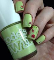 light green nail polish facebook