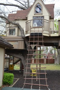 Interesting Two Floor Tree Houses To Live In