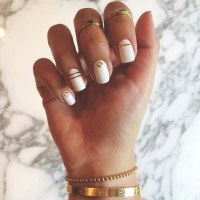 boho, cool, essie, girl, girly, gold, henna, indie, laquer ...