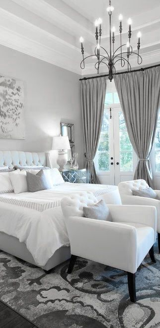 Incredible Grey Walls Bedroom Design Elsafana Image 2728052 On Favim Com