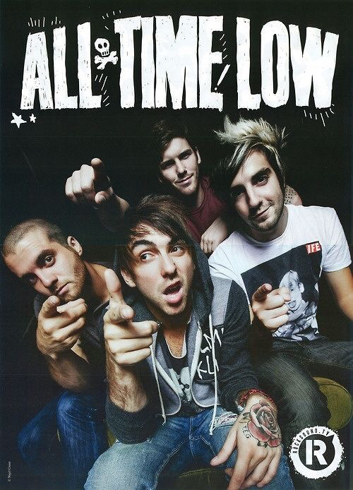 alex gaskarth all time low and band