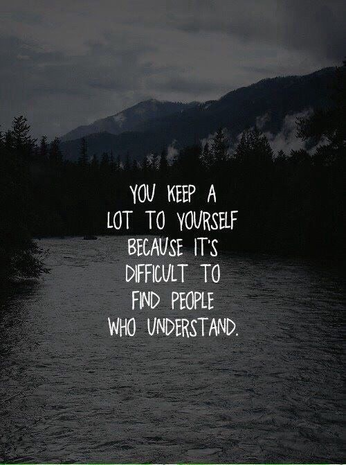 Quotes Of The Day Am Deep Quotes Sad Thoughts Image 3868770 By