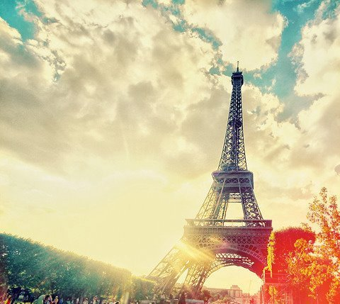 Beautiful Hijab Girl Wallpaper Effiel Tower France Paris Photography Scenery Image
