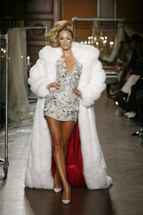Iphone 8 X Wallpaper Bling Candice Candice Swanepoel Classy Coat Image