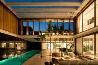 house, interior, pool, rich, room