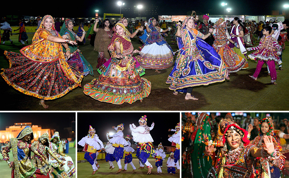 Garba Grooves In Full Swing As Navratri Celebrations Take