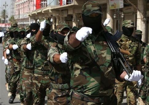 ISIL militiamen in Iraq / AP