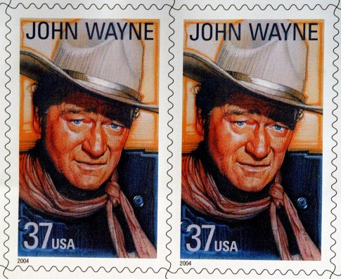 The stamp, issued in 2004, is part of the Legends of Hollywood collection / AP